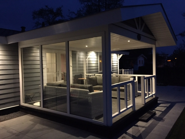 Chalet Naturisme Private Moments by Night