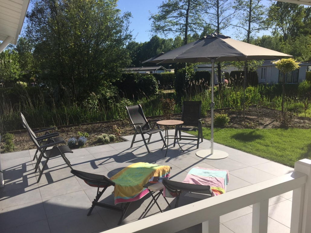 Chalet Naturisme Private Moments Zonneterras